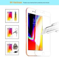 Buy cheap Ultra Anti Fingerprint Edge To Edge Screen Protector Iphone 7 / 8  2.5D / 3D from wholesalers