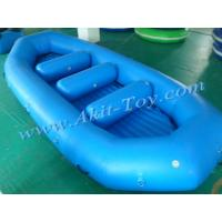 Buy cheap Commercial 0.9mm PVC inflatable fishing boat for sale from wholesalers