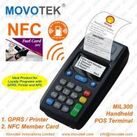 Buy cheap Movotek Portable GPRS Printer with NFC RFID Card Reader from wholesalers