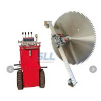 Buy cheap SLL-700TM Hydraulic Wall Saw Machine Electric Motor Wall Concrete Saw Cutting from wholesalers