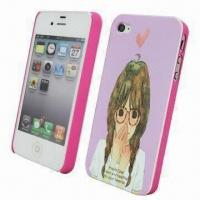 Buy cheap Crystal Case for iPhone, Cover in Plastic, with IMD Clear Photo Artwork in Printing from wholesalers