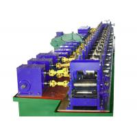 Buy cheap Escalator Lift Hollow Elevator Guide Rail Roll Forming Machine from wholesalers