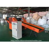 Buy cheap Artificial Synthetic Fiber Waste Shredder Seaweed / Nylon / PA6 / PA66 Cutting Crusher from wholesalers