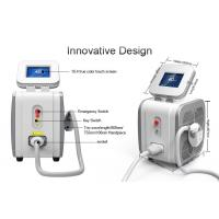 Buy cheap 3 Wavelength Diode Hair Removal Laser Machine / Lady Hair Removal Machine 755nm product