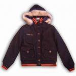 Buy cheap Ladies woolen coat, hood with faux fur from wholesalers