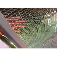 Buy cheap 2meter length Uniform Hole Highway fence Painted Expanded Metal Mesh from wholesalers