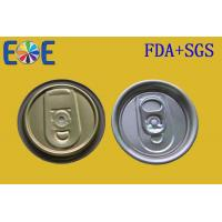 Buy cheap Metal EOE Lid 113 SOT 46mm Juice Bottle Easy Open End With Safe Rim from wholesalers
