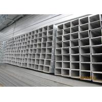 Buy cheap High Strength Galvanized Steel Square Tubing , Galvanised Square Steel Posts from wholesalers