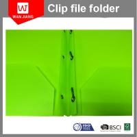 Buy cheap New design document file PP plastic 3 prong file folder with two pockets and business card slot from wholesalers