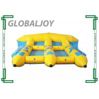 Buy cheap Tarpaulin Inflatable Water Games , Inflatable Flying Fish Banana Boat from wholesalers
