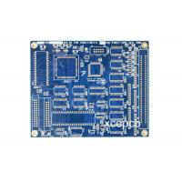 Buy cheap Industrial Control FR4 PCB Circuit Board With One Stop Turnkey Service PCB Manufacturing Process from wholesalers