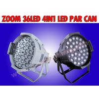 Buy cheap ZOOM 36*10W 4IN1 LED PAR CAN/zoom led par light from wholesalers