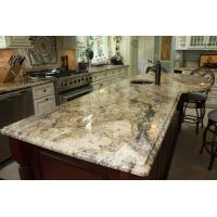 Buy cheap Yellow River / Golden River Granite Vanity Countertops For Traditional Bathroom from wholesalers