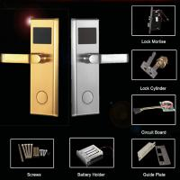 Buy cheap Smart Intelligent Hotel Lock with Mifare Card/ high security with Safety Bolty (Zinc Alloy) from wholesalers