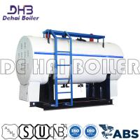China 4000kg/H Package Steam Boiler Horizontal Coal Fired Units Natural Circulation on sale