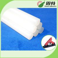 Buy cheap EVA resin  Based White and semi-transparent  Solid Hot Melt Industrial Glue Sticks Light White Semi Transparent from wholesalers