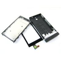 Wholesale for Sony Xperia U ST25i black   Touch Screen Digitizer and Cover Housing from china suppliers