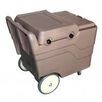 Buy cheap Hot Sell Durable PE Brown 110Litre Ice Cart Ice Caddies for Hotels from wholesalers