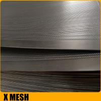 Buy cheap Standard  Hexagonal shape decorative perforated stainless steel sheet for corrugated pipe from wholesalers