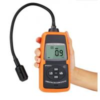Buy cheap SPD202 Large LCD Display 0~100%LEL 50~50000PPM Digital Combustible Gas Detector product