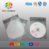 Buy cheap OPP cellophane bags for CD card / gift packaging , self adhesive seal from wholesalers