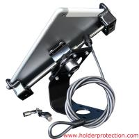 Buy cheap COMER alloy secuity display stand with key cable lock for 7-10 inch table from wholesalers