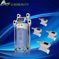 Wholesale Hot Saled Europe and America ! China Best Professional Cryolipolysis Machine With 4 Handle from china suppliers