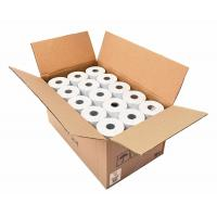 Buy cheap 80*50mm Credit Card Machine Paper Rolls , Pos Machine Paper Rolls Black Image from wholesalers