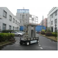 Buy cheap Four Mast Electric Ladder Lift , 300KG Load 12m Mobile Elevated Platform from wholesalers