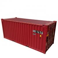 Buy cheap DNV Certificate 39.90CBM 20ft ISO Tank Container Red Color Corten - A Material from wholesalers