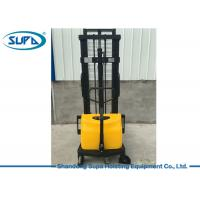 Buy cheap Semi Electric Hydraulic Pallet Jack , Hydraulic Pallet Stacker DC Motor Power Source from wholesalers