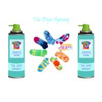 Buy cheap Multi Colorful 200ml Tie Dye Spray Paint DIY For Clothing / Scarves / Stockings from wholesalers