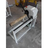 Wholesale LC-500 manual load plastic and paper core cutting machine core cutter paper tuber cutter from china suppliers