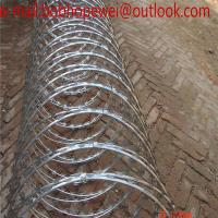 Buy cheap Welded Razor Barbed Wire for Cattle Fence Construction/factory direct new welded galvanized razor barbed wire from wholesalers
