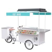 Buy cheap Electric Bicycle Beer Cart , Mobile Vending Cart With High Load Capacity from wholesalers