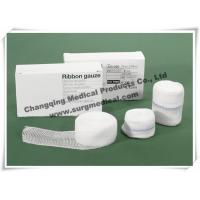 Wholesale Cotton Surgical Medical Gauze Fast Edge Ribbon Strips 1.25cm X 5m from china suppliers