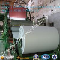 Buy cheap 1092mm cylinder mould type cultural paper machine with 4T/D from wholesalers