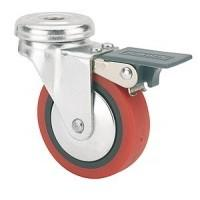 Buy cheap Shopping cart casters, PU caster with PP core, Ball bearing,Trolley Bearing from wholesalers