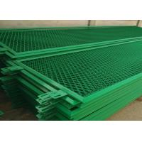 Buy cheap Dust Proof Green Aluminum Expanded Metal Mesh For Building Doors / Windows from wholesalers