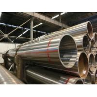 Buy cheap Seamless Ferritic Alloy Steel Pipe ASTM A335 P5 , Alloy Seamless Pipe 56'' Size from wholesalers