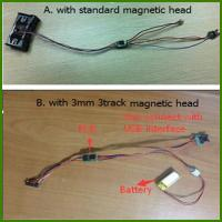 Buy cheap Free Shipping Msr Smallest Magnetic Card Reader Msr009 with 3mm Head Track1, Track2, Track3 for Lo&Hi Co Card from wholesalers
