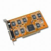 Wholesale DVR PCI Video Card, Supports PAL/NTSC, Plug-and-Play Function and Audio Monitor from china suppliers