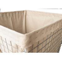 Wholesale Mil 3 Galvanized Hesco Bastion , Hesco Flood Mitigation Barrier Wall from china suppliers