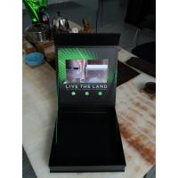 Buy cheap Promotional Gift Box Full Color Printing 7LCD screen Video Box video packaging&video presentation boxes from wholesalers