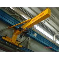 Buy cheap Compacted Frame Wall Traveling Truck Jib Cranes For Fitting & Fabrication Workstation from wholesalers
