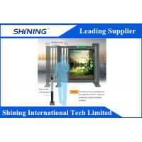 24V/30W CE Approved Retractable Electric Swing Gate With Advertising Screen