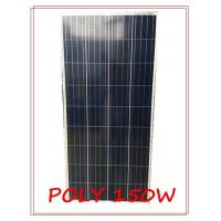 Wholesale Poly Waterproof Solar Panel , 150 Watt Portable Solar Panel White TPT Back Material from china suppliers