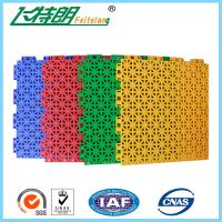 Wholesale Plastic Playground Rubber Flooring All Weather Multifunction 97% Rebound Rate from china suppliers