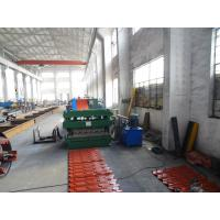Buy cheap End Bent Roofing Tile Roll Forming Machine Glazed Tile 7.5Kw from wholesalers