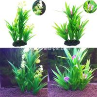 Wholesale Cheap Vivid Aquarium Imitation Water Plant Artificial Grass for Fish Tank from china suppliers